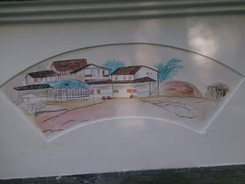 安阳市政府街道文化墙彩绘