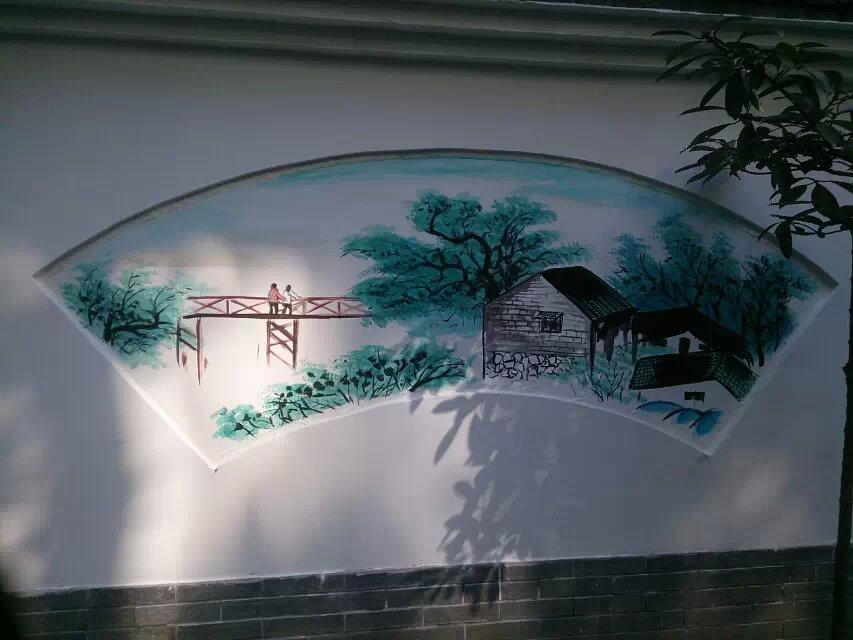 市政府街道文化墙彩绘