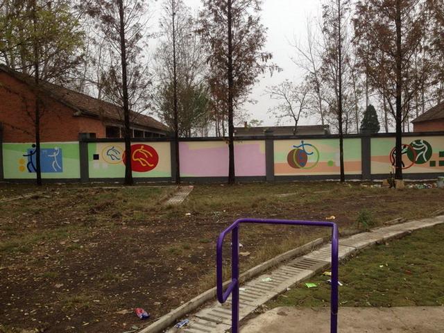 安阳小学文化墙彩绘